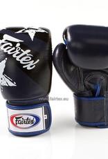 """Fairtex BGV1 """"Nation Print"""" Limited Edition Gloves - Blue"""