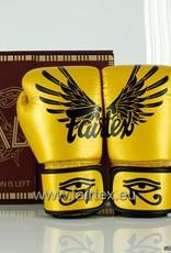 "Fairtex BGV1 ""Falcon"" Limited Edition Handschuhe - Gold"