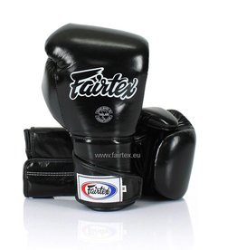 Fairtex BGV6 Stylish Angular Sparring Bokshandschoenen - Zwart