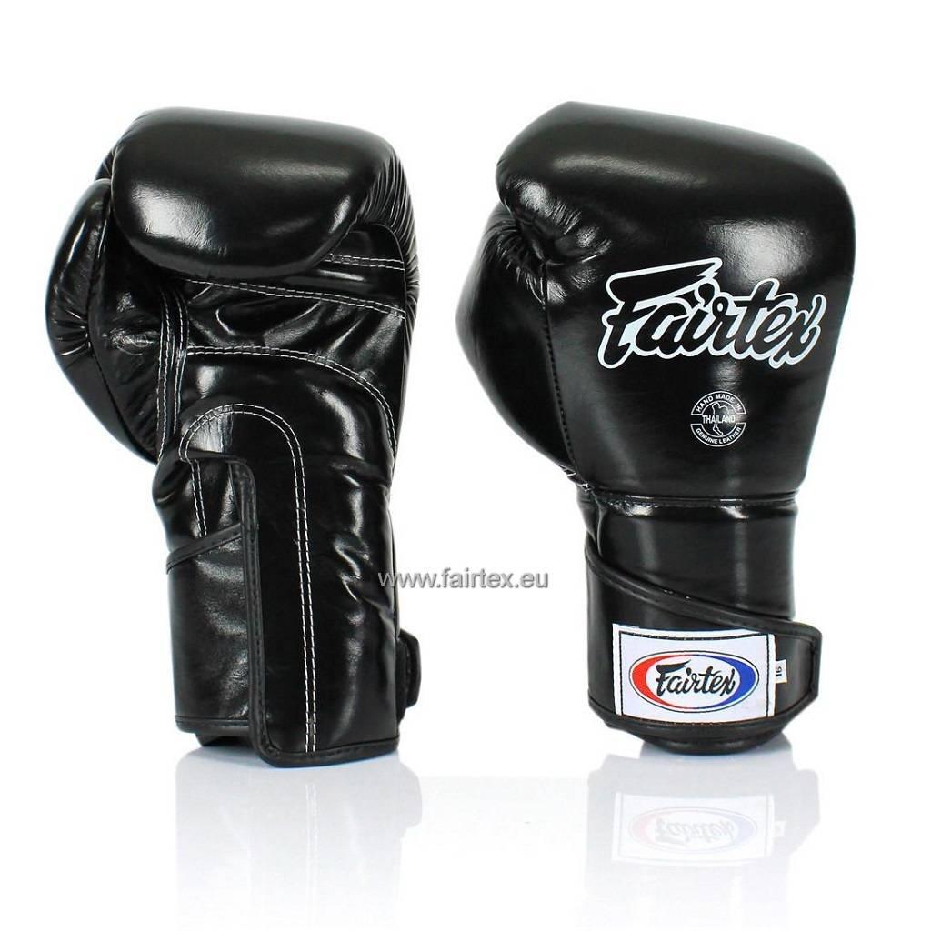 Fairtex BGV6 Stilvolle Sparring Handschuhe - Schwarz