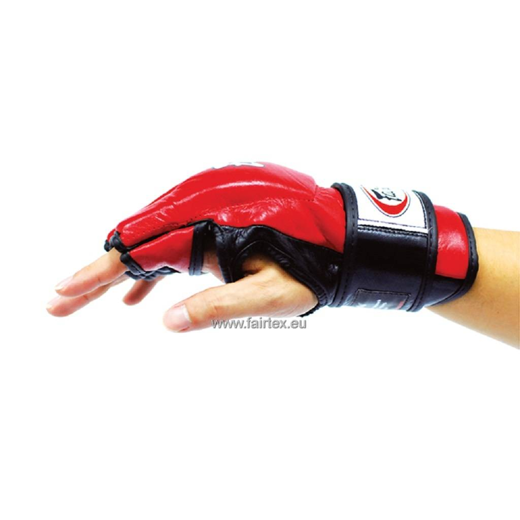 Fairtex FGV12 Ultimate Combat Gloves with Open Thumb Loop