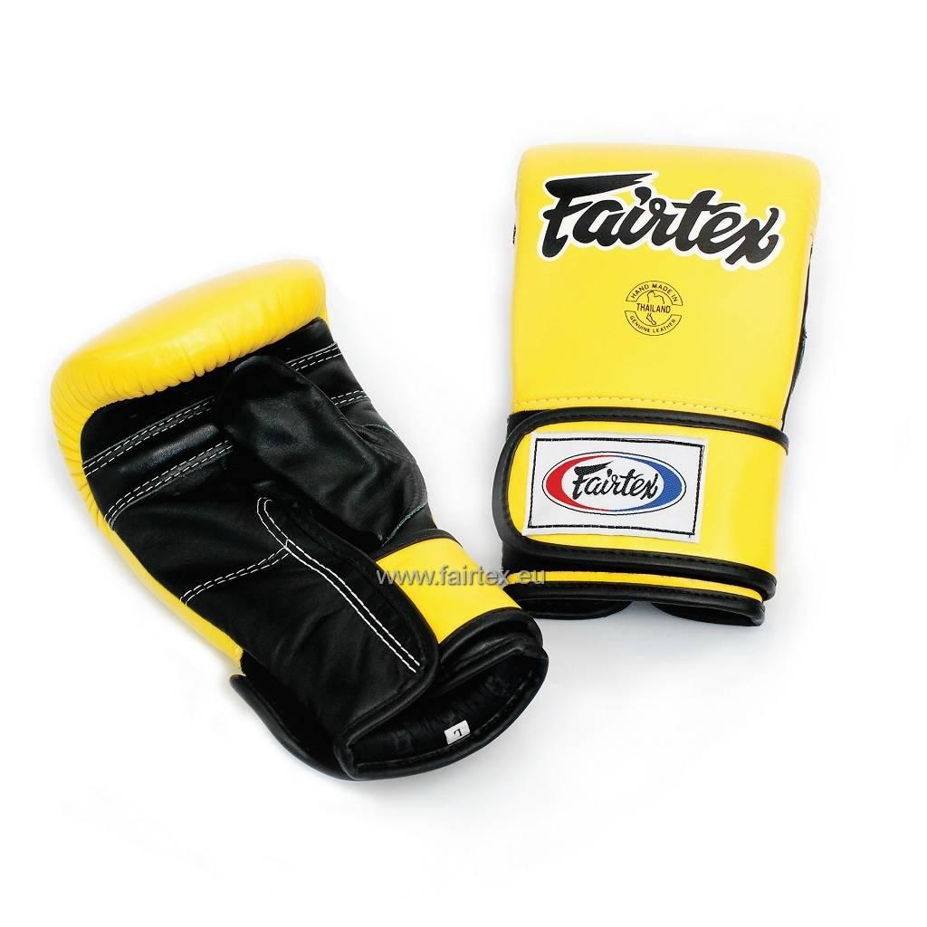Fairtex TGT7 Cross-Trainer & Bokszakhandschoenen - Geel