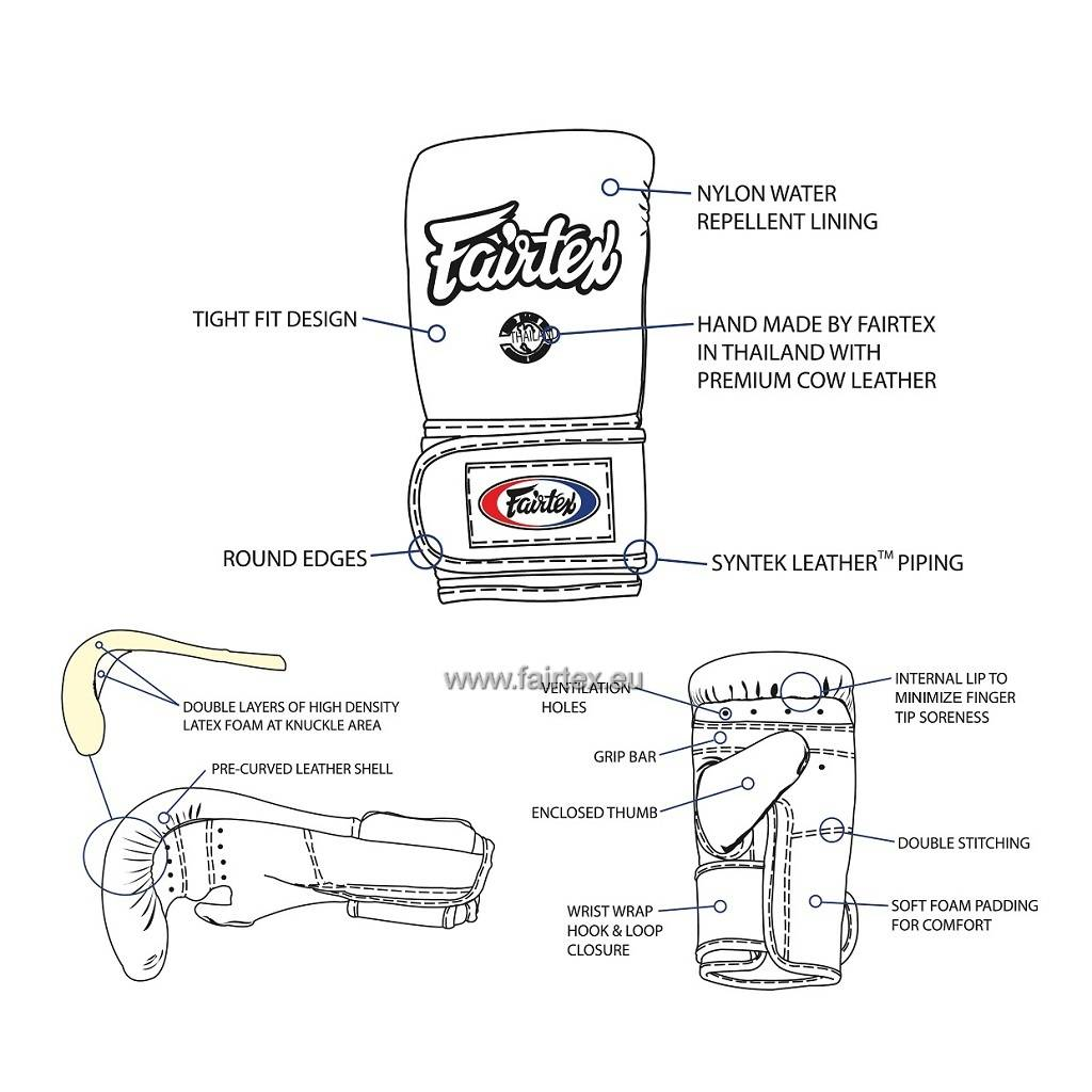 Fairtex TGT7 Cross-Trainer Boxing & Bag Gloves - Yellow