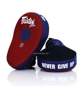 Fairtex Pattes d'Ours FMV13 - Rouge/Bleu