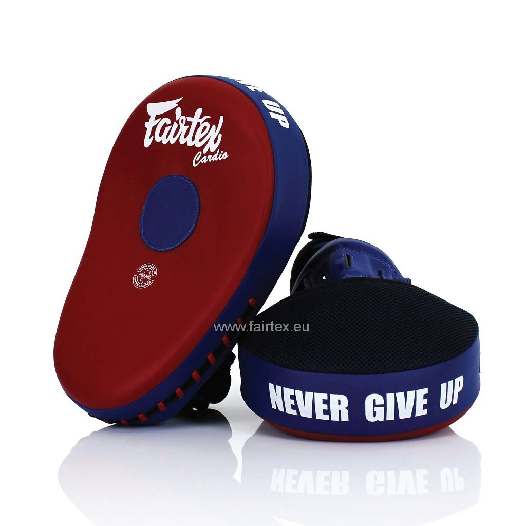 Fairtex FMV13 Maximized Focus Pads - Rood/Blauw