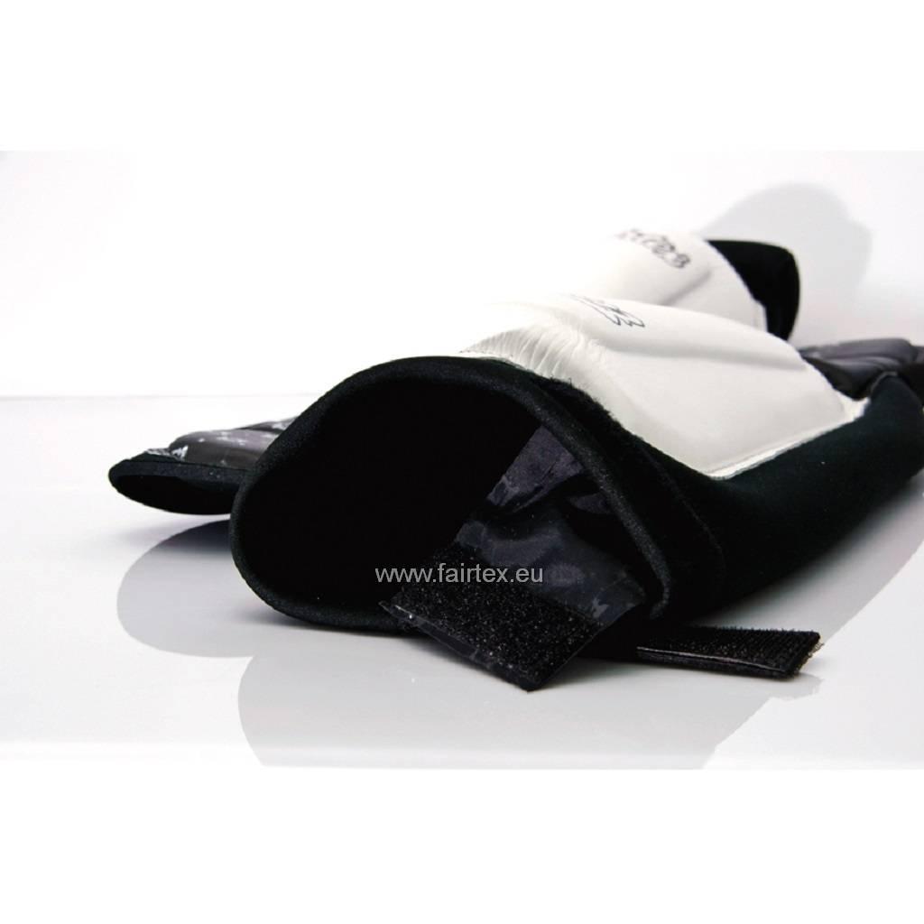 Fairtex SP6 Neoprene Shin Pads - White/Black