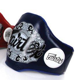 Fairtex BPV2 Leather Belly Pad - Blue