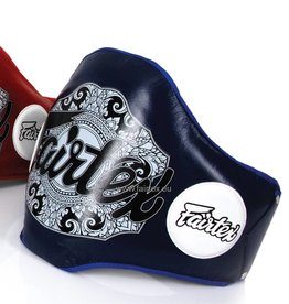 Fairtex BPV2 Leren Buik Pad - Blauw