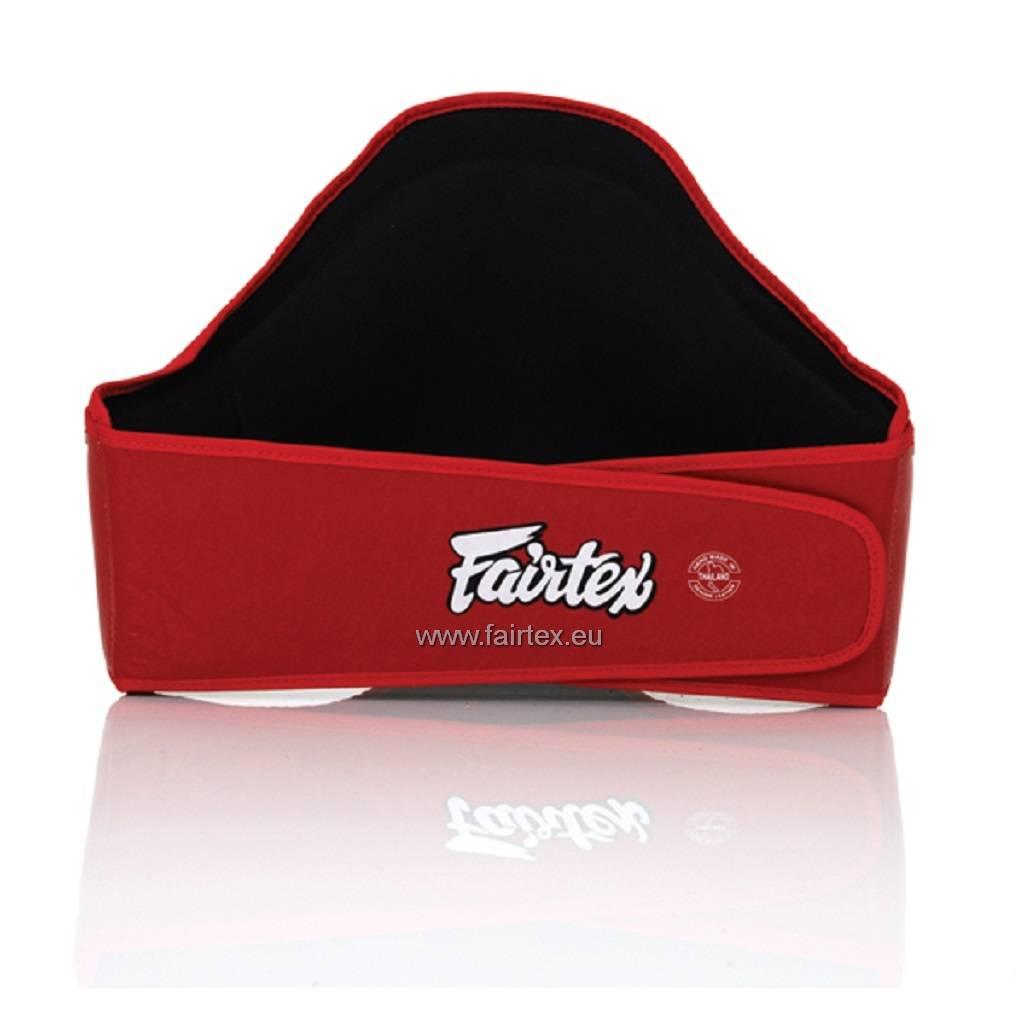 Fairtex BPV2 Leder Bauchschutz - Rot