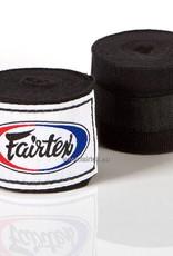 Fairtex HW2 Extra Long Elastic Hand Wraps - Black