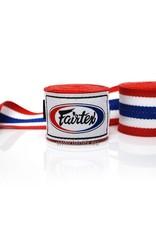 Fairtex HW2 Extra Lange Elastisch Hand Bandage - Thaise Vlag Patroon
