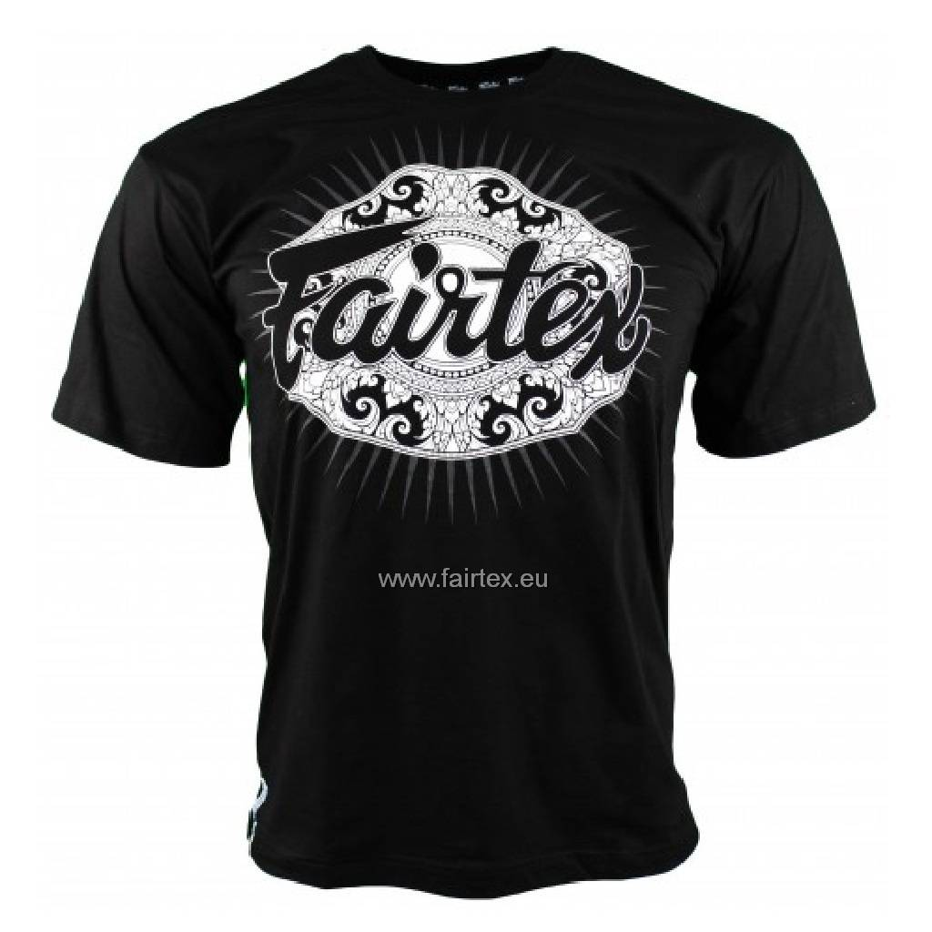 "Fairtex T-shirt TS37 ""Champion"" - Noir"