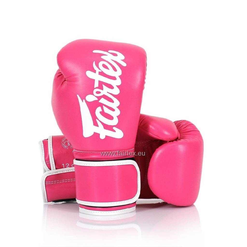Fairtex BGV14 Improved Fight Gloves - Pink