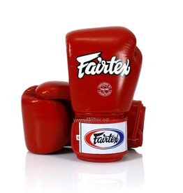 Fairtex BGV1 Pro Fight Gloves - Red