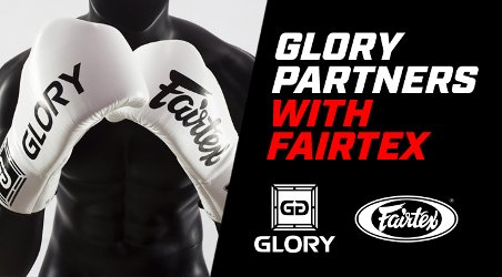 Fairtex partnership with GLORY