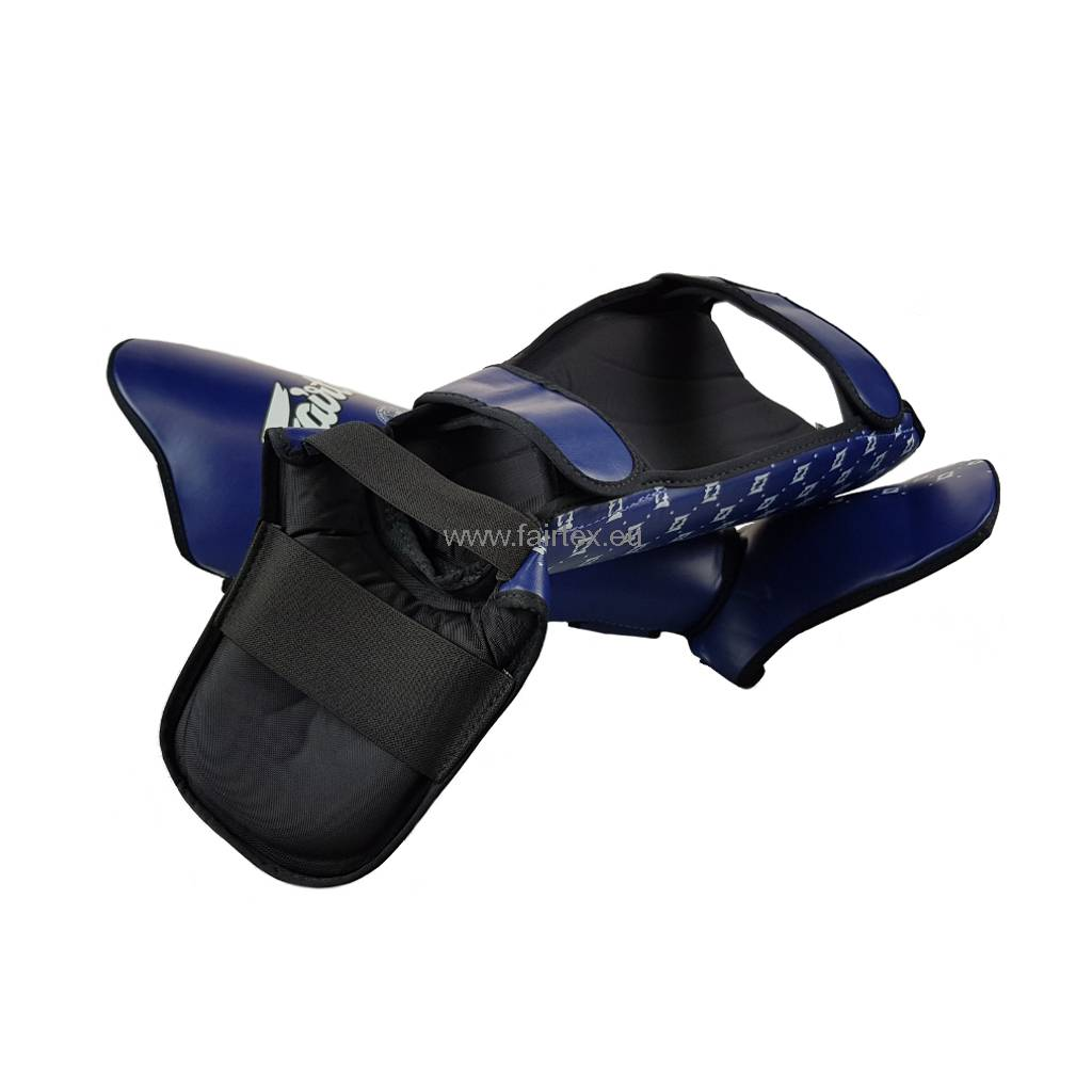 Fairtex SP5 Super Comfort Schienbeinschützer - Blau