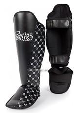 Fairtex SP5 Safety and Super Comfort Shin Pads - Black - XL