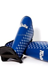 Fairtex SP5 Safety and Super Comfort Shin Pads - Blue