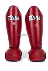 Fairtex SP5 Super Comfort Schienbeinschützer - Rot