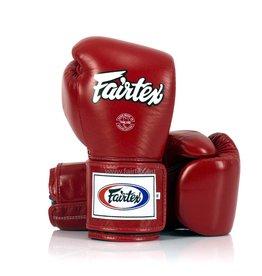 Fairtex BGV5 Super Sparring Gloves - Red - 16 oz