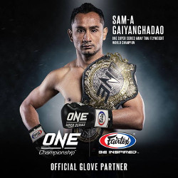 Fairtex Official Gloves at ONE Super Series