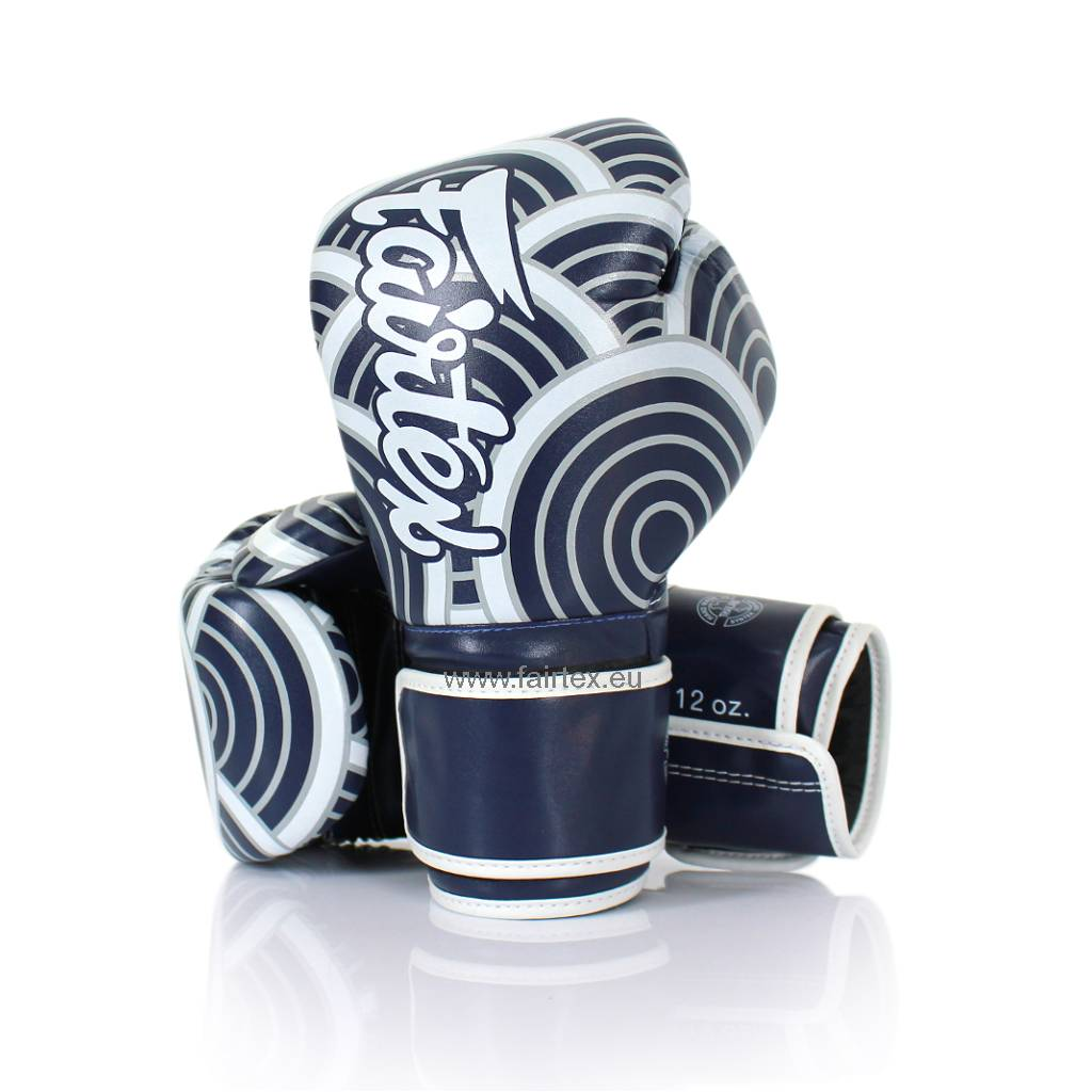 "Fairtex BGV14BLU ""Japanese Art"" Limited Edition Handschuhe - Blau"
