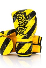 "Fairtex BGV14Y ""Grunge Art"" Limited Edition Gloves - Yellow"