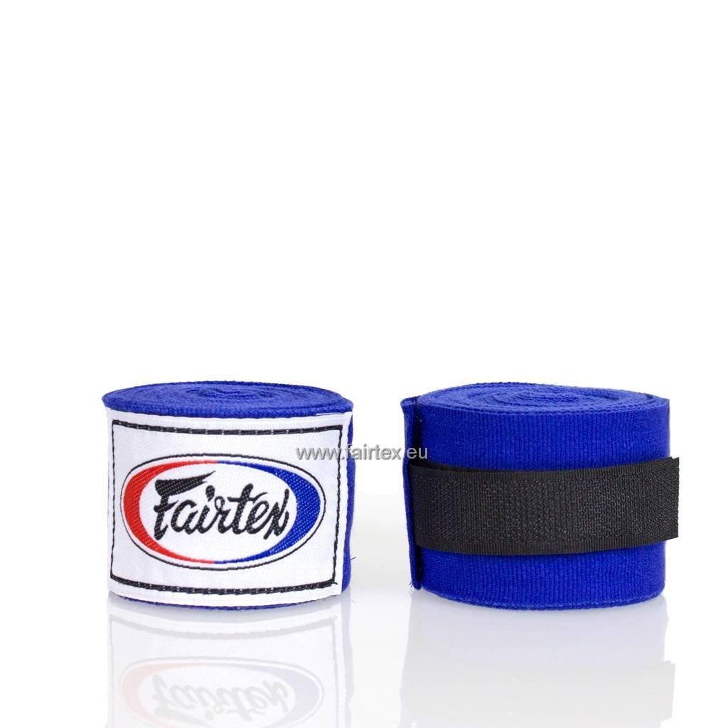 Fairtex HW2 Extra Lange Elastisch Hand Bandage - Blauw