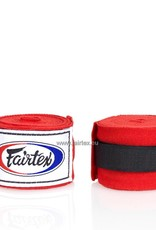Fairtex HW2 Extra Long Elastic Hand Wraps - Red