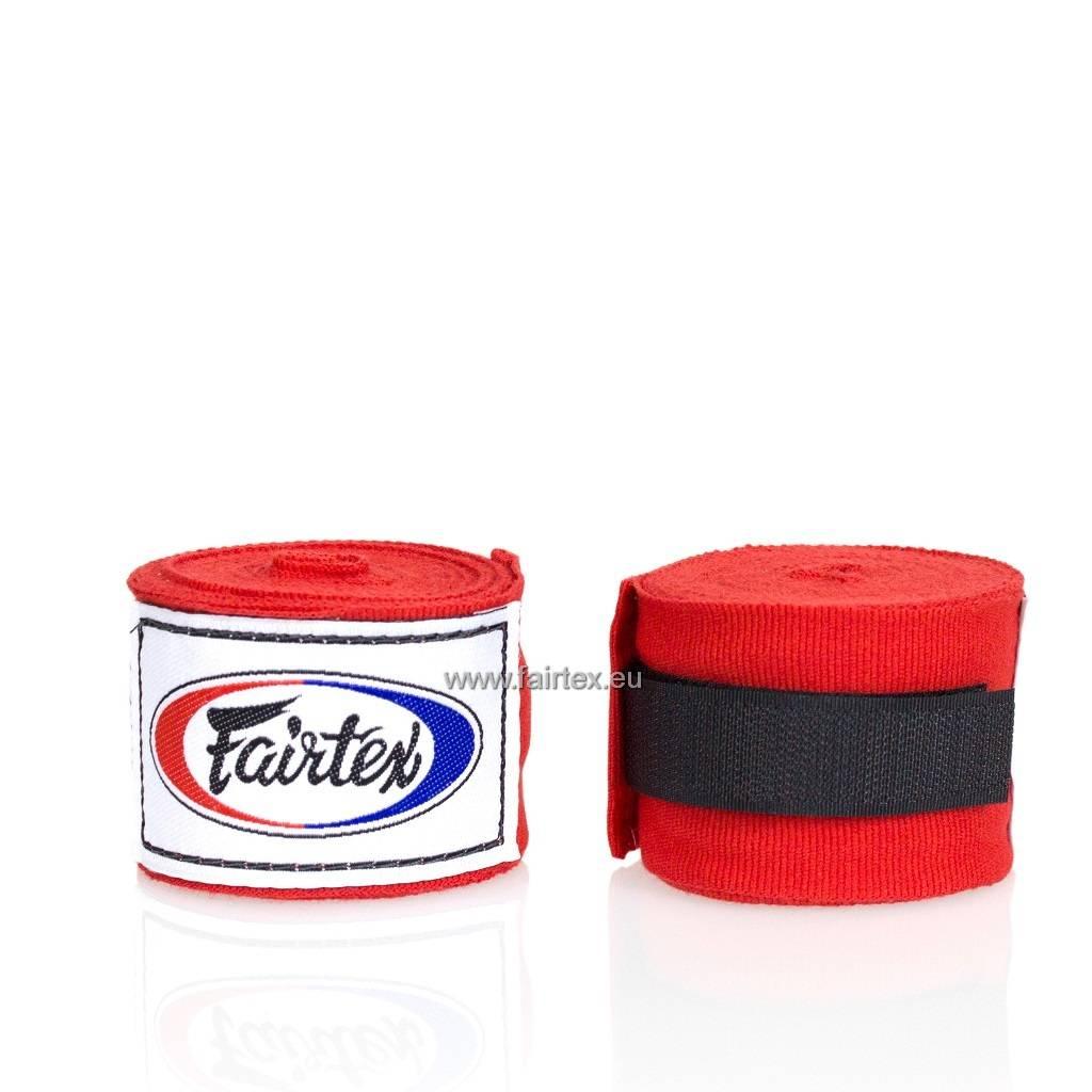 Fairtex HW2 Extra Lange Elastisch Hand Bandage - Rood