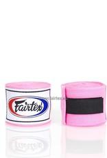 Fairtex HW2 Extra Lange Elastisch Hand Bandage - Roze