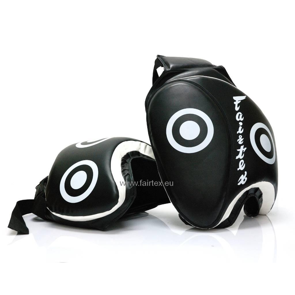 Fairtex TP3 Thigh Pads - Zwart