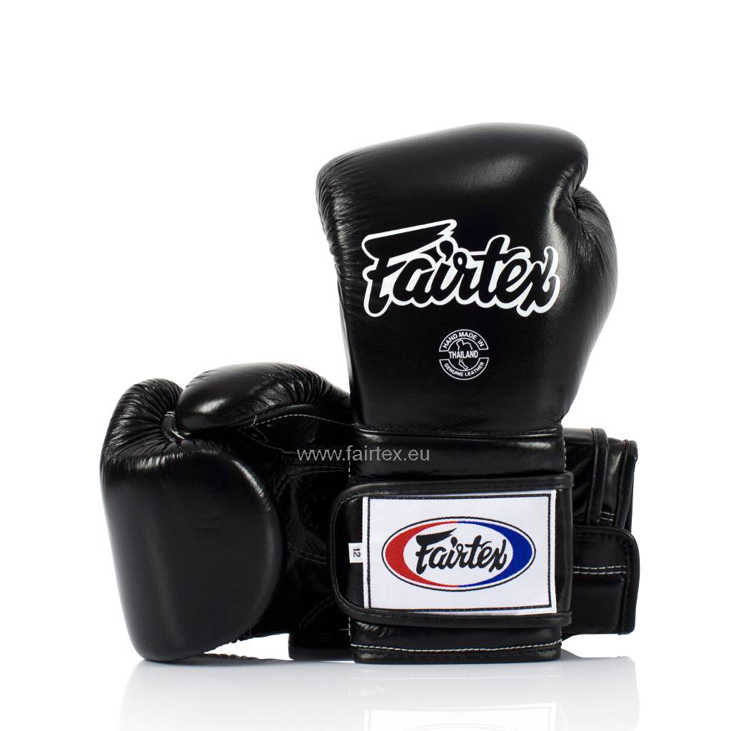 Fairtex BGV9 Pro Training Gloves Mexican Style - Black
