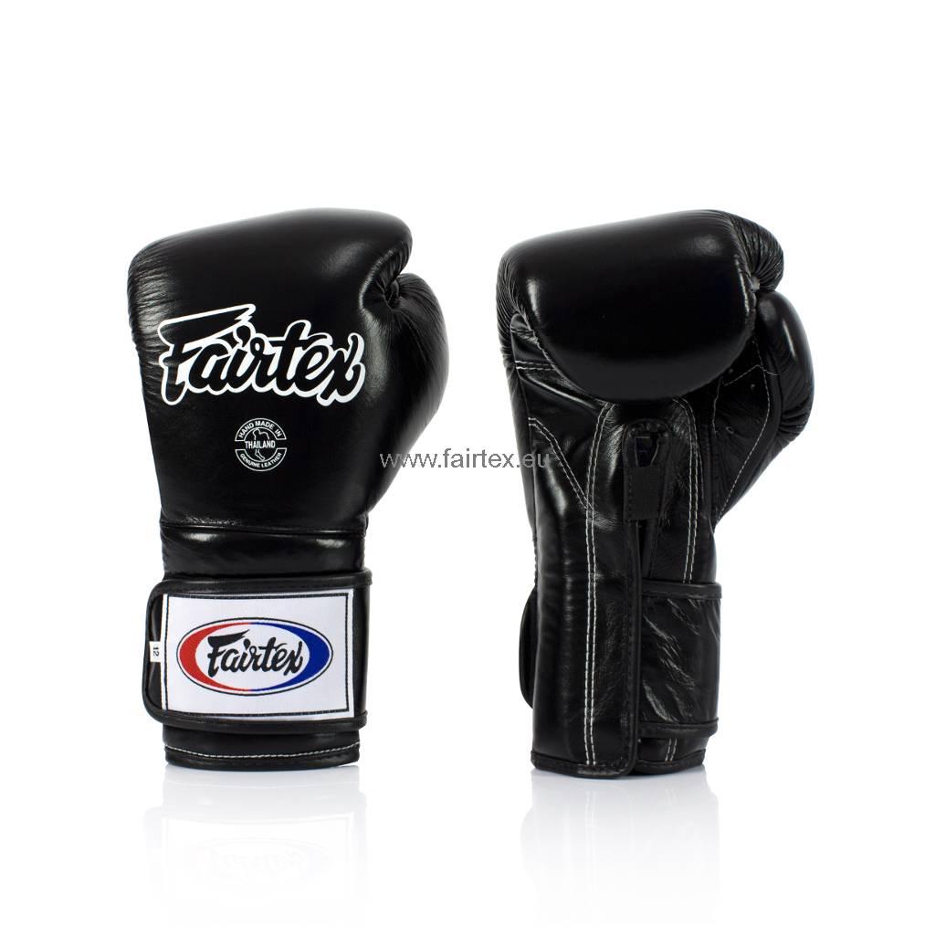 Fairtex BGV9 Pro Training Bokshandschoenen Mexican Style - Zwart