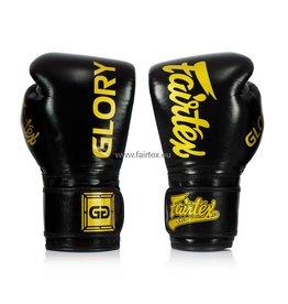 Fairtex BGVG1 Glory Competition Gloves - Black - 16 Oz