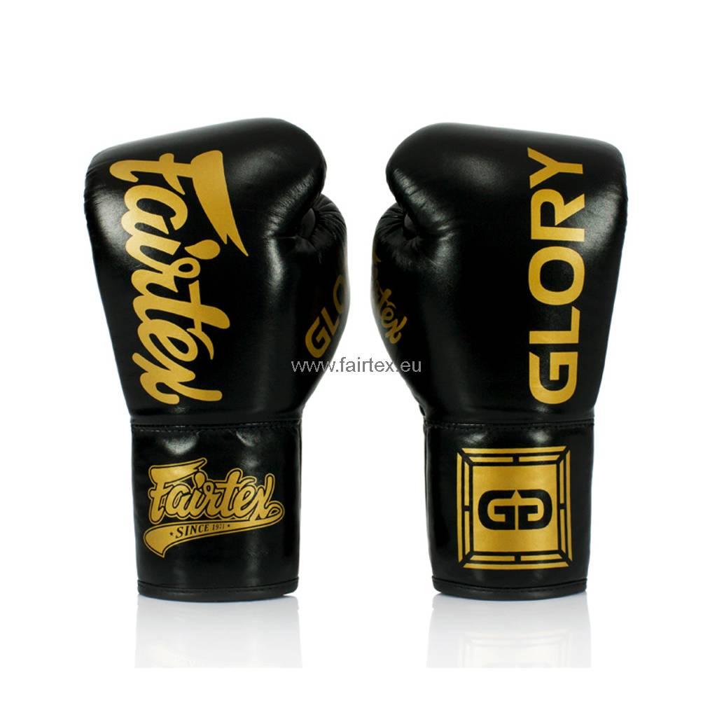 Fairtex BGVG1 Glory Competitie Bokshandschoenen - Zwart