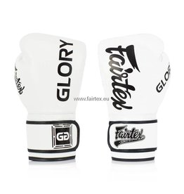 Fairtex Gants de Glory BGVG1 - Blanc - 16 Oz