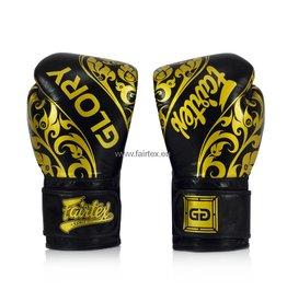 Fairtex BGVG2 Glory Limited Edition Gloves - Black - 16 Oz