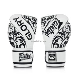 Fairtex BGVG2 Glory Limited Edition Gloves - White - 16 Oz