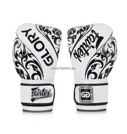 Fairtex Gants de Glory BGVG2 - Blanc - 16 Oz