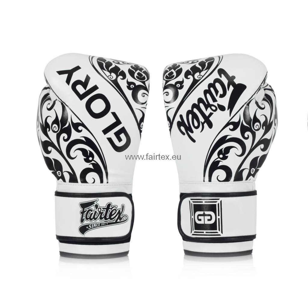 Fairtex BGVG2 Glory Limited Edition Gloves - White