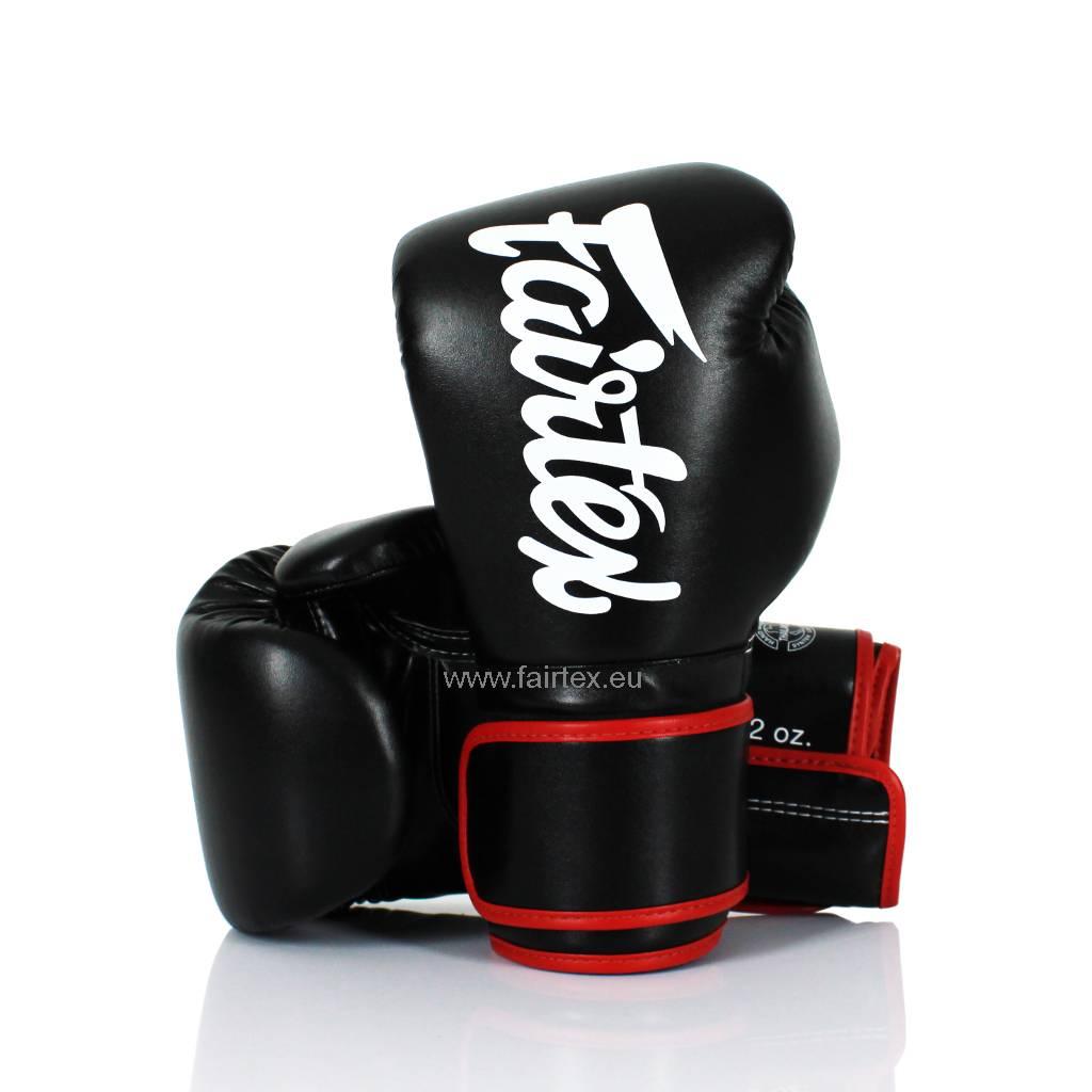 Fairtex BGV14 Improved Fight Gloves - Black