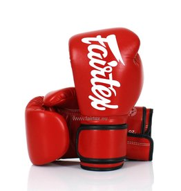 Fairtex BGV14 Improved Fight Gloves - Red