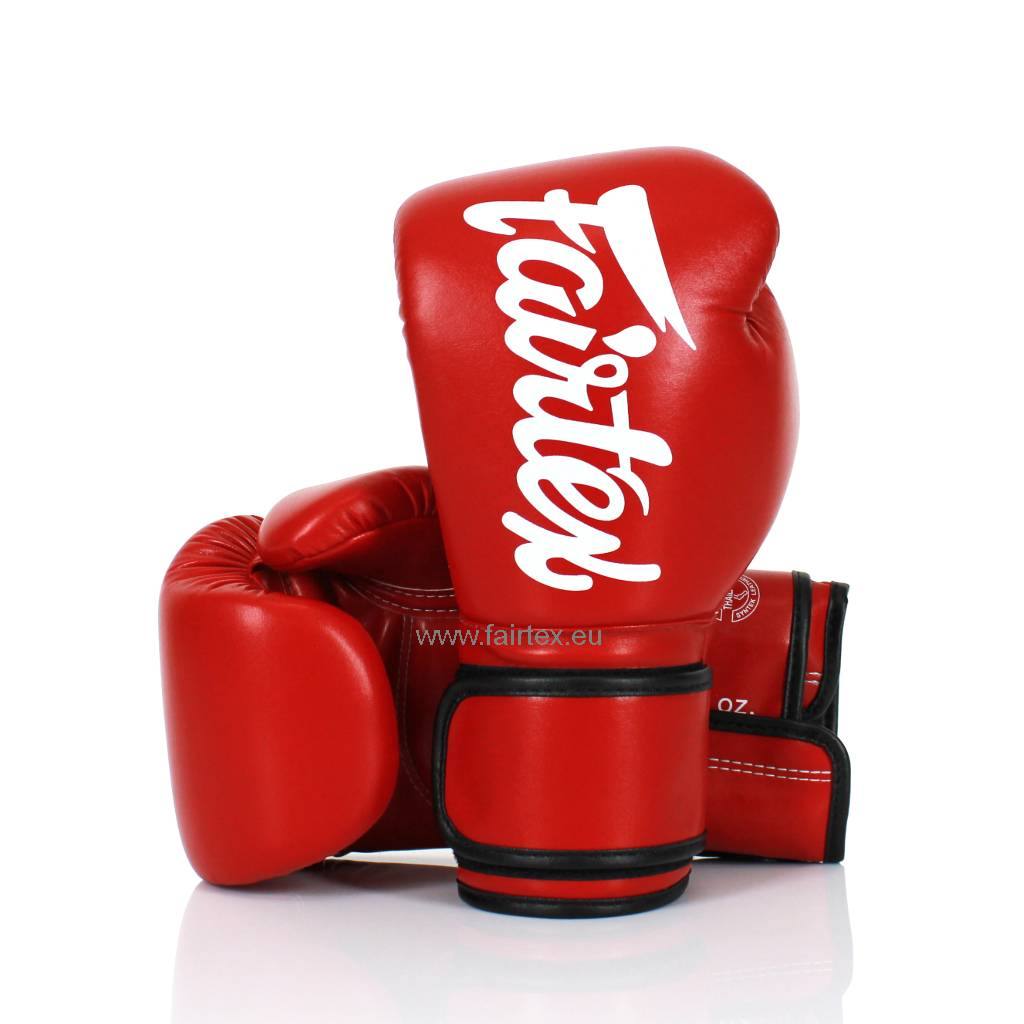 Fairtex BGV14 Improved Fight Gloves - Red