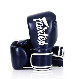 Fairtex BGV14 Improved Fight Gloves - Blue - 8 Oz