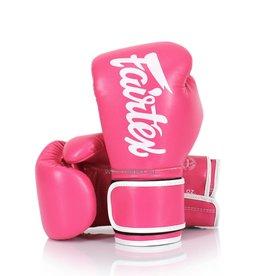 Fairtex BGV14 Improved Fight Gloves - Pink - 14 Oz