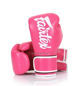 Fairtex BGV14 Improved Fight Gloves - Pink
