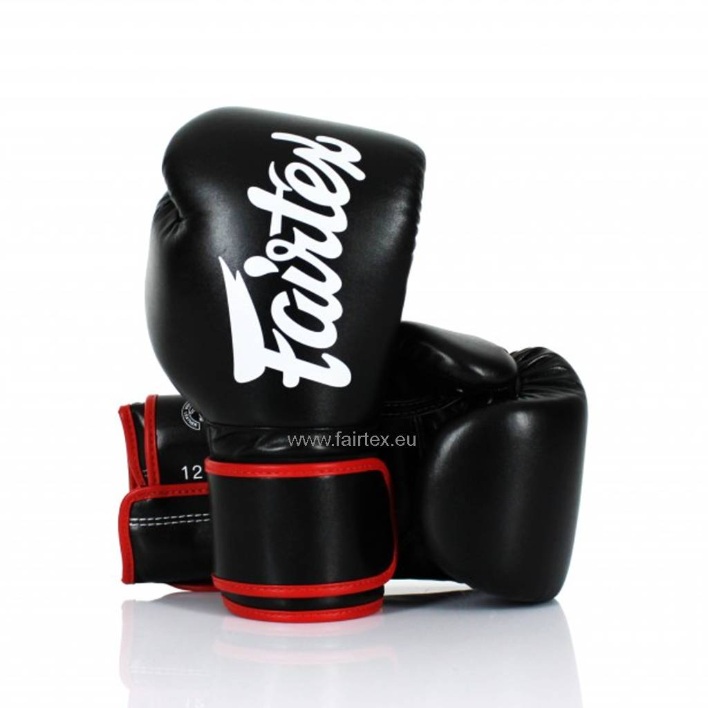Fairtex BGV14 Verbeterde Bokshandschoenen - Zwart