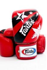 """Fairtex BGV1 """"Nation Print"""" Limited Edition Handschuhe - Rot"""
