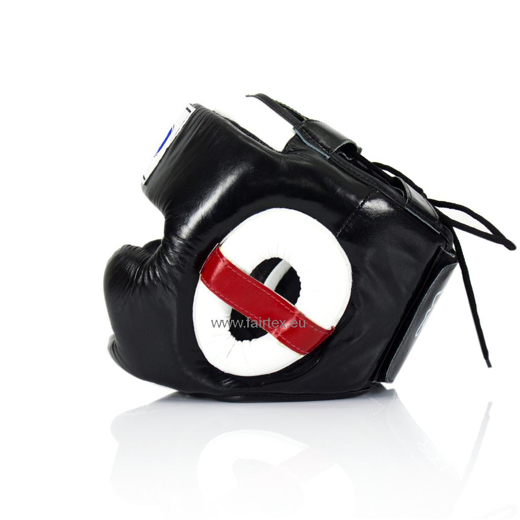 Fairtex HG10 Super Sparring Hoofdbeschermer - Zwart